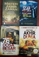 Jual  Buku Misteri Akhir Zaman, Misteri Akhir Dunia, Kisah Tragis Akhir Hidup Orang-Orang Zhalim dan Al-Kabair, 76 Dosa Besar Yang Dianggap Biasa