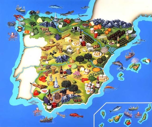 Resultado de imagen de mapa recursos mineros en españa