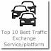 Top 10 Best Traffic Exchange Service/platform
