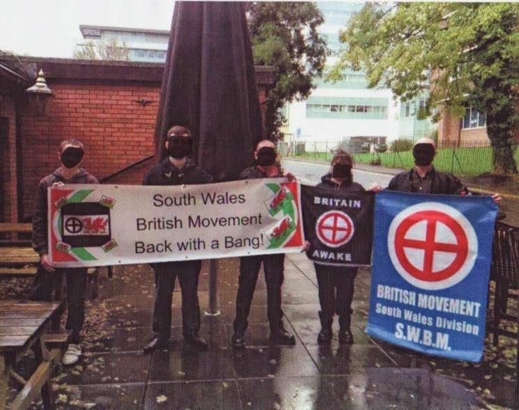 Nazi and neo-Nazi flags in the United Kingdom