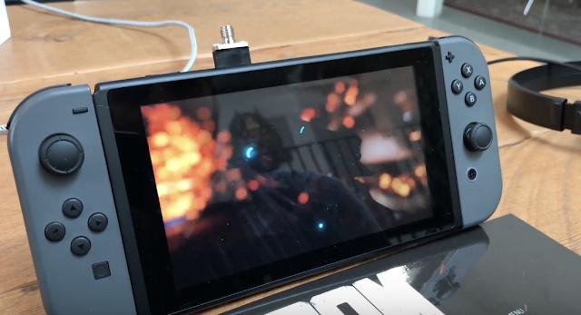 Muestran DOOM en acción en el modo portátil de Nintendo Switch