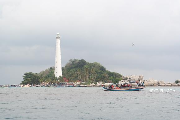 pulau lengkuas mendung