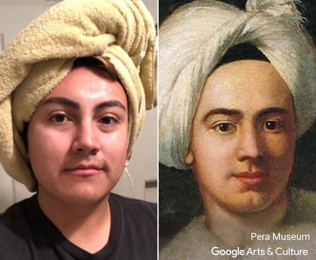Google отыщет вашего двойника на полотнах художников