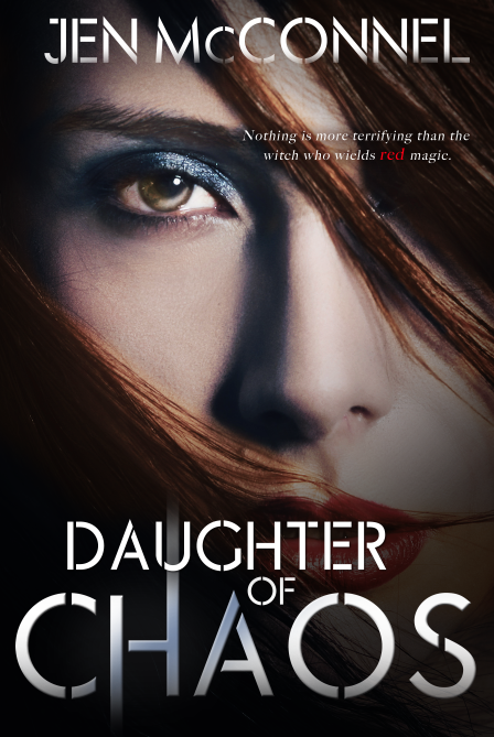 http://www.amazon.com/Daughter-Chaos-Red-Magic-McConnel/dp/0988340968/ref=tmm_pap_title_0?ie=UTF8&qid=1390417642&sr=1-3