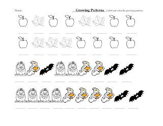 Mrs. Shaffer's 1st Grade Class: Growing Patterns