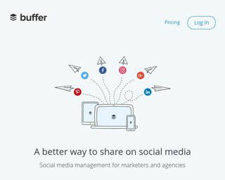Buffer-best-app-social media post scheduling-schedule posts major platform-320x256