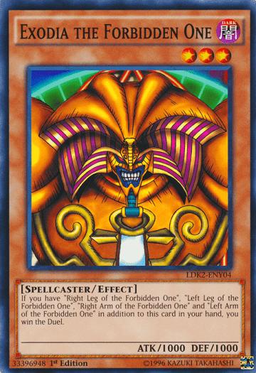 Exodia menjadi kartu efek pertama