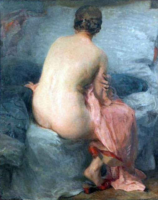 Boleslaw Jan Czedekowski, Artistic nude, The naked in the art, Il nude in arte, Fine art