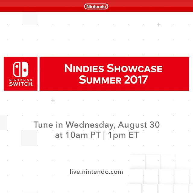 Se anuncia Nindie Showcase para el día 30 de agosto