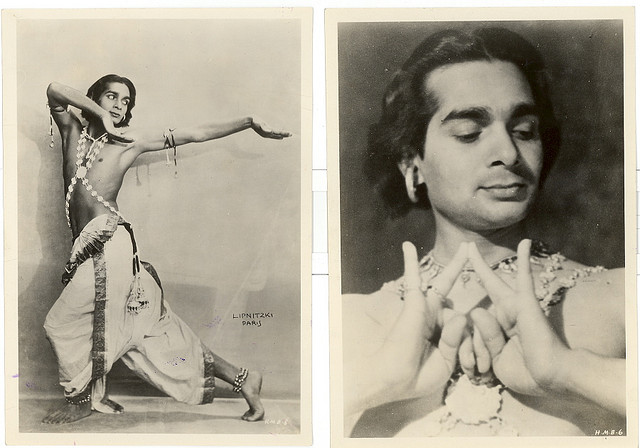 Uday Shankar, world renowned Indian dancer and choreographer