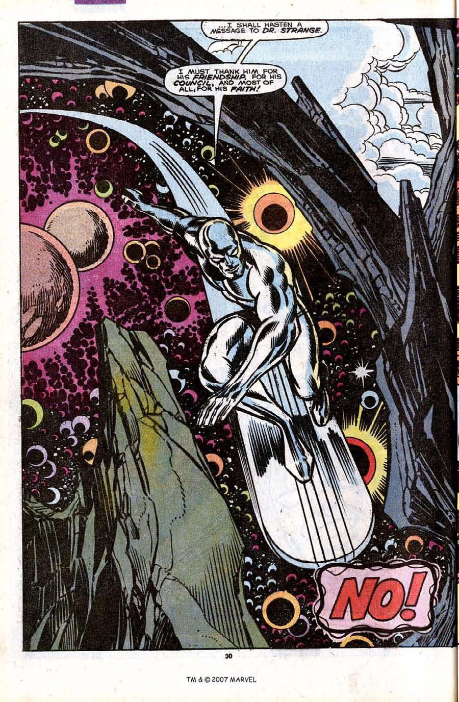 Read online Silver Surfer (1987) comic -  Issue #32 - 32