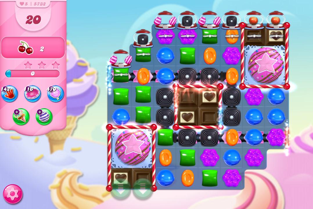 Candy Crush Saga level 5732
