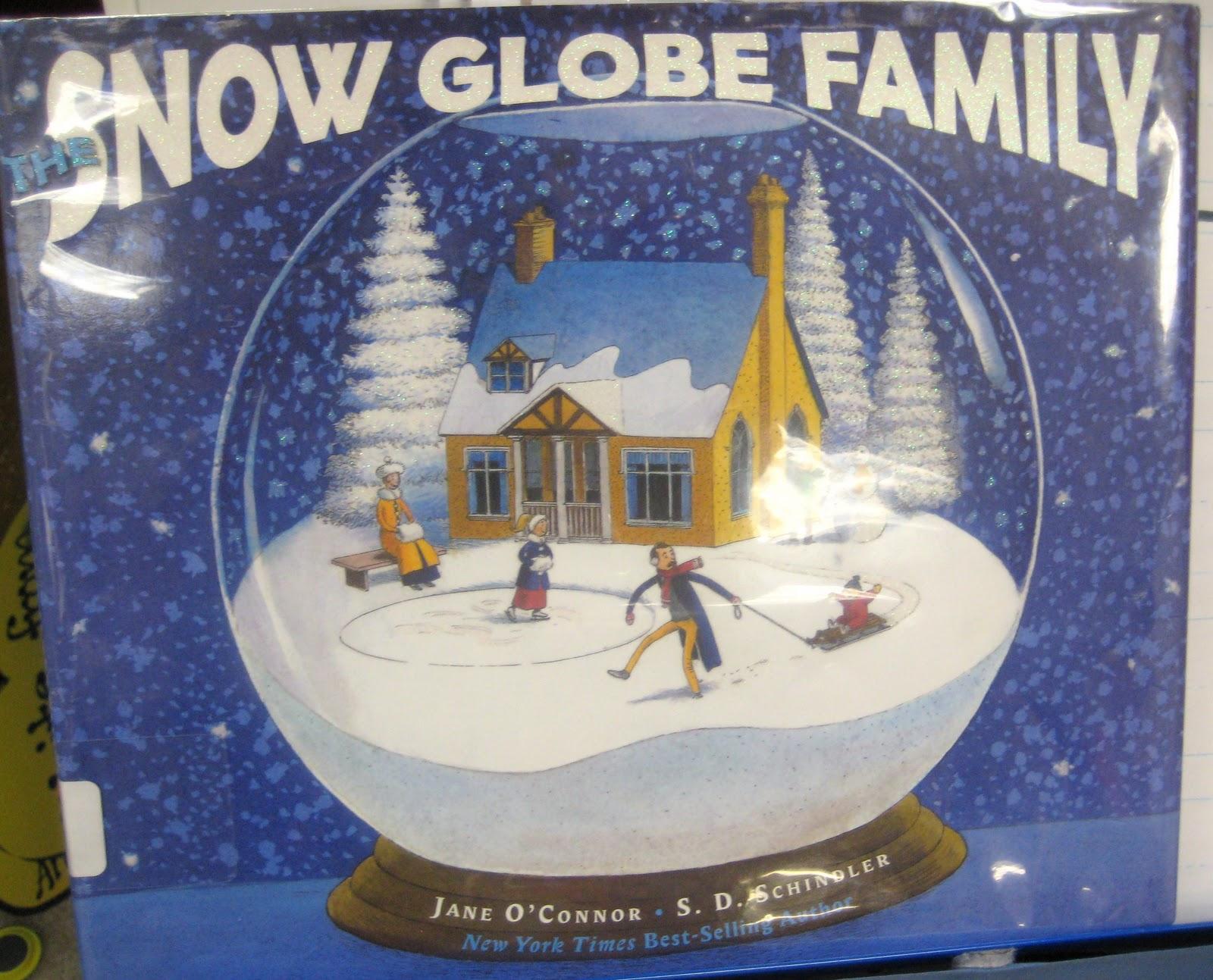 First Grade Wow Snow Globes