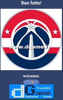 Soluzioni NBA Team Quiz livello 24