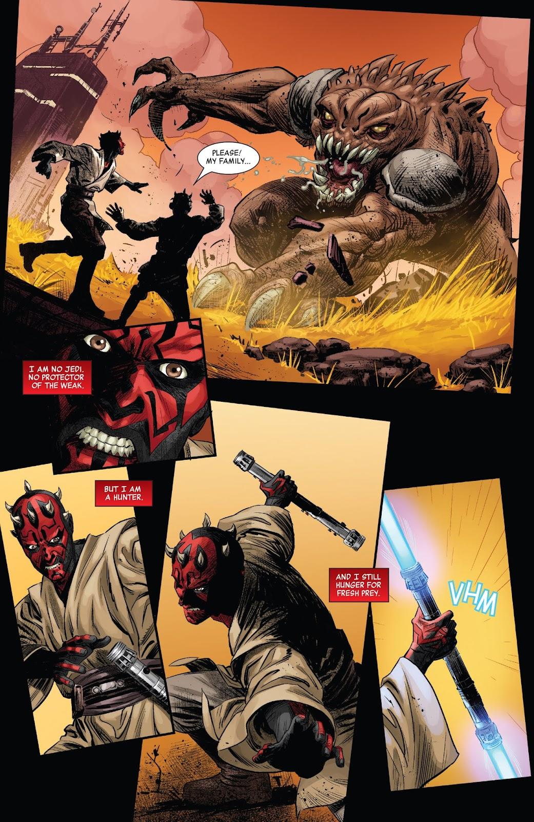 Read online Star Wars: Age of Republic - Darth Maul comic -  Issue # Full - 16