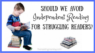 Is independent reading helpful or hurtful for our struggling readers? What does research say about independent reading?