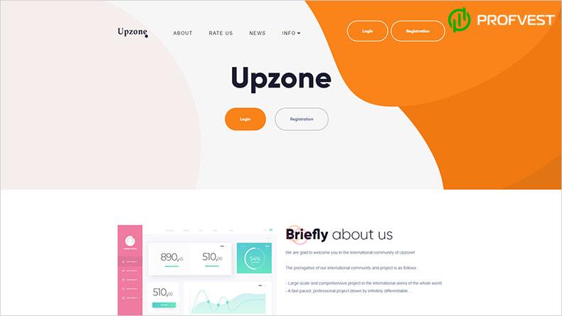 Upzone обзор и отзывы HYIP-проекта