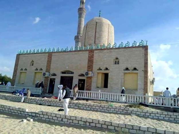 Militants kill more than 230 at mosque in Egypt's North Sinai