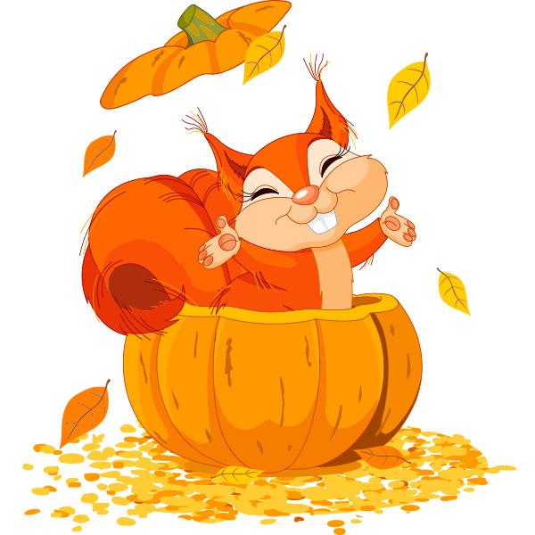 Pumpkin Squirrel | Symbols & Emoticons