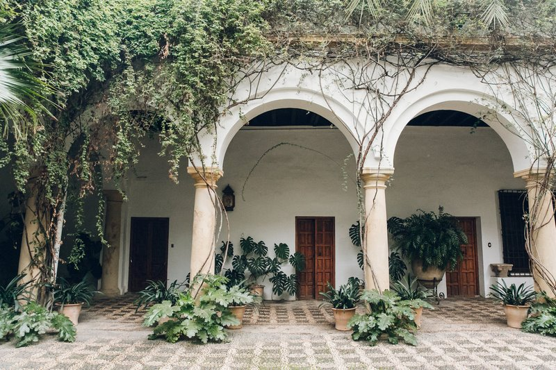 Patio Palacio de Viana, Córdoba, España