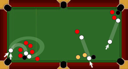 blackball pool rules stalemate