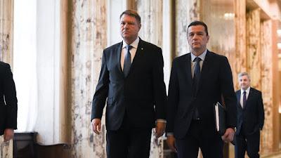 Călin Popescu Tăriceanu, Klaus Iohannis, Grindeanu-kormány, Sorin Grindeanu