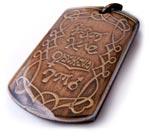 Amulet na lásku z orientu. Obsahuje aj ľúbostné zaklínadlo.