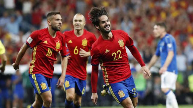 España está a dos partidos de lograr la clasificación a Rusia 2018 en la eliminatoria europea