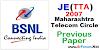 BSNL JE (TTA) 2007 [Maharashtra Telecom Circle] Paper