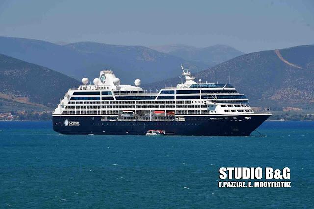 """Το πλοίο της """"σεξοκρουαζιέρας"""" «Αzamara Quest» στο Ναύπλιο - Πολυτελής θαλαμηγοί στο λιμάνι (βίντεο)"""