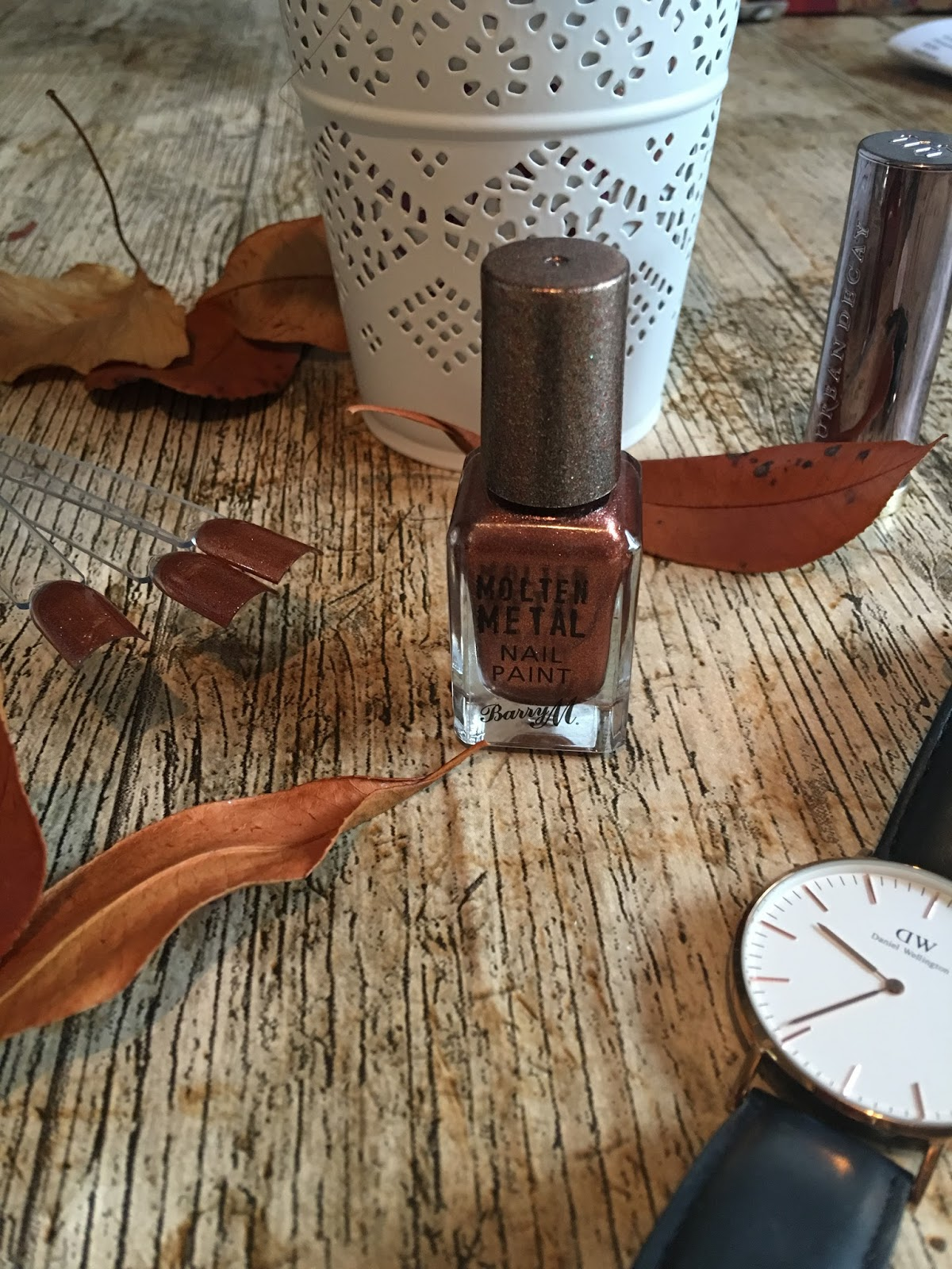 Barry M molten metal copper mine review