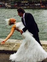 Zahide Yetişin Paristeki Düğün Fotoğrafları