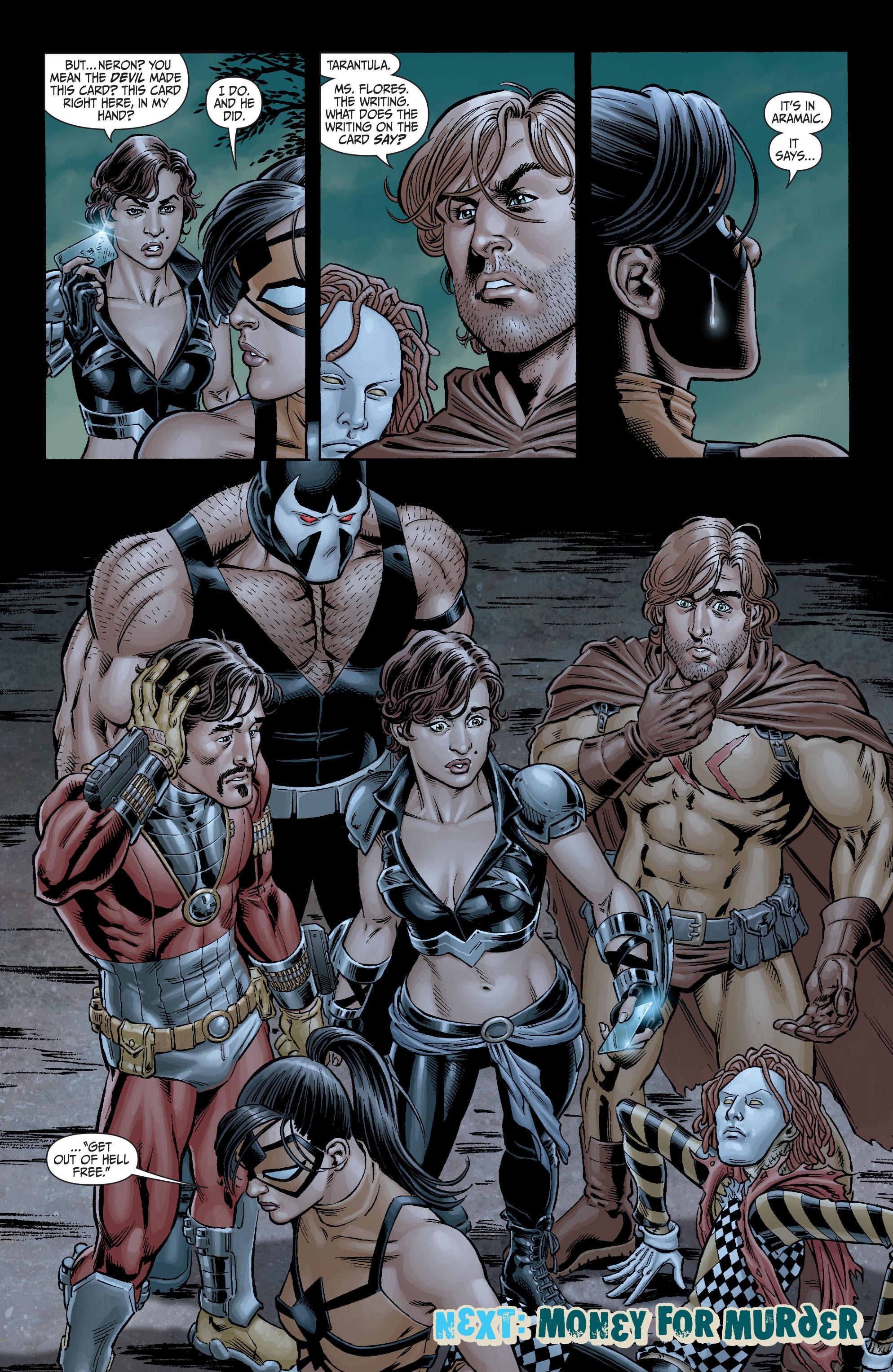 Read online Secret Six (2008) comic -  Issue #3 - 23
