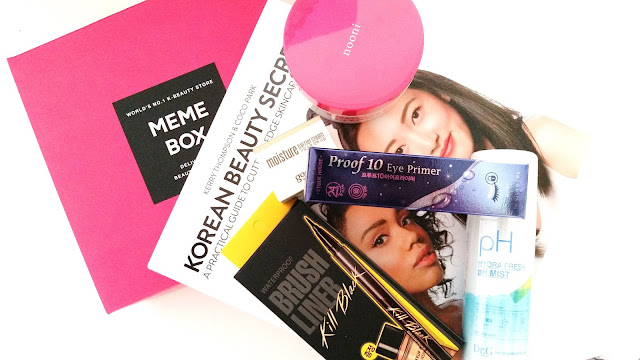 Memebox Korean Beauty Secrets with Kerry and Coco Box Unboxing