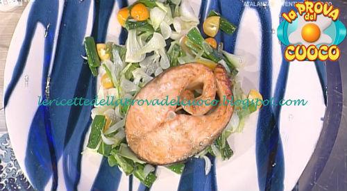 Salmone arrosto all'orientale ricetta Shoda da Prova del Cuoco