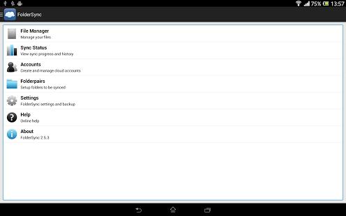 FolderSync Android App APK Full Version Pro Free Download