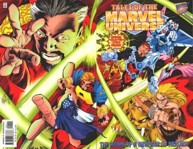 Comic Books and Movies: 90's Post Heroes Reborn Thunderbolts
