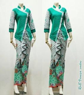 baju batik setelan modern