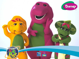 Mewarnai Gambar Barney And Friends