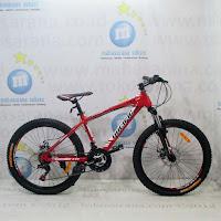 Sepeda Gunung Remaja Pacific Mazara TX006 21 Speed 24 Inci - Red