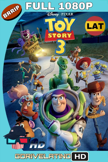 Toy Story 3 (2010) BRRip 1080p Latino MKV