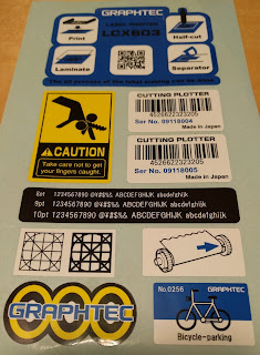 LCX603 Labels