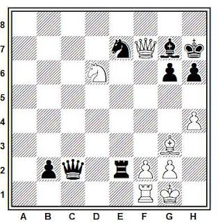 Posición de la partida Nowak - Gerver (Dallas, 1981)