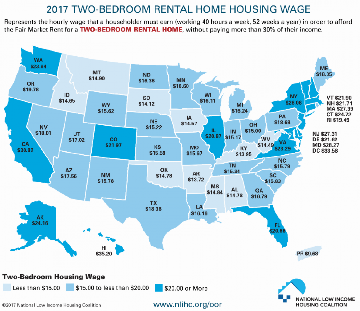 Apartment Rent Map: The Rural Blog: Minimum-wage Job Isn't Enough To Afford A