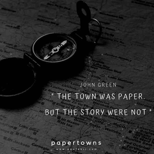 review buku paper towns
