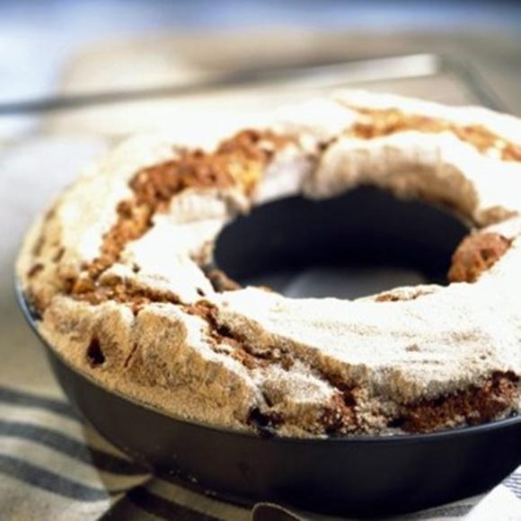 Coffee-Cake À La Rhubarbe