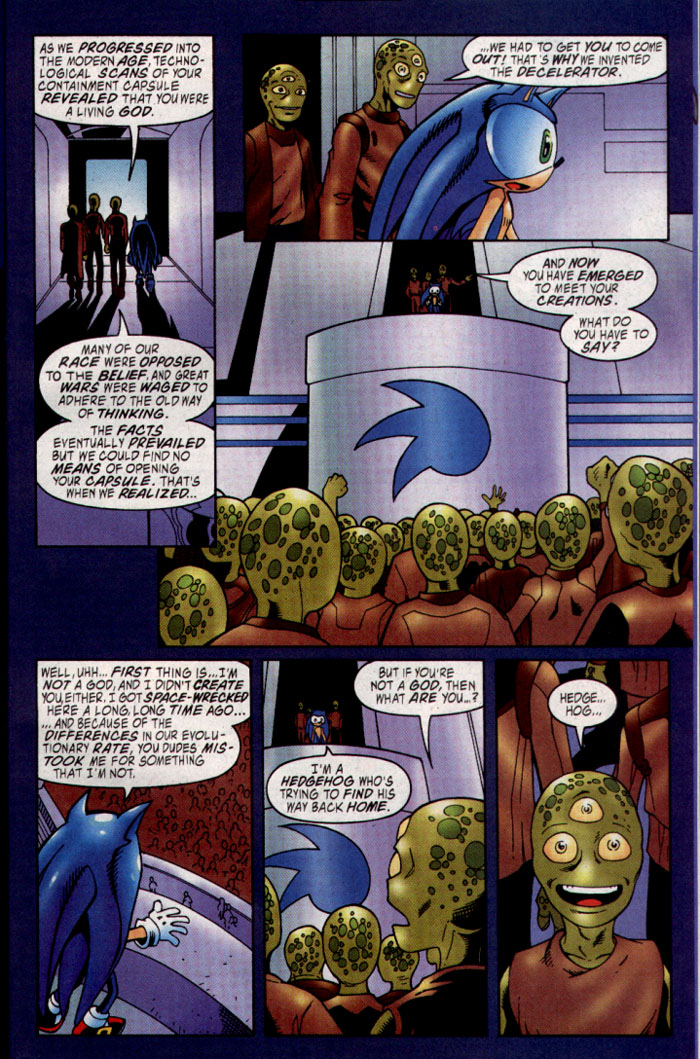 Read online Sonic The Hedgehog comic -  Issue #127 - 17