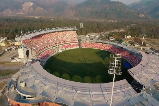Dehradun's International Stadium