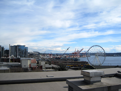 Seattle waterfront with Great Wheel