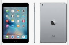 noleggio iPad nero grigio